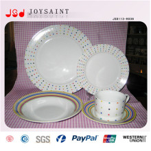 Wholesale Cheap Dinner Porcelain Plates Fruit Plates