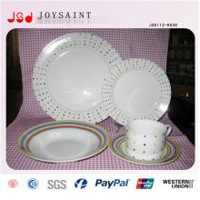 Großhandel Günstige Dinner Porzellan Teller Obst Teller
