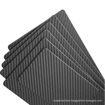 Customized diverse size high professional China made hot sale carbon fiber sheet