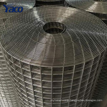 """1/4"""" 1/2"""" 3/4"""" 1"""" hole SS304 stainless steel welded vector mapping grid wire mesh 1x30m"""