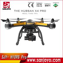 Оригинальный hubsan X4 профессиональный H109S Профессиональный drone с камерой 1080p и парашют 5.8 G в режиме реального времени fpv и GPS RC горючего