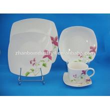 Vajilla moderna de cerámica, vajilla lindo, vajilla usada