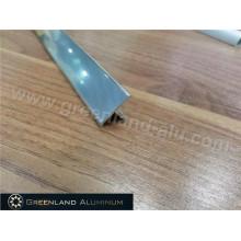Aluminium Profiles T Shape Transition Tile Trim with Silver Color