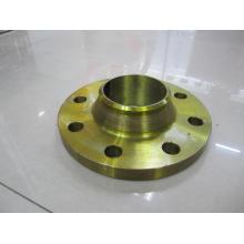 """1/2 """"-48"""" ASME16.5 CLASS 150 WN dourado pintura em aço flange"""