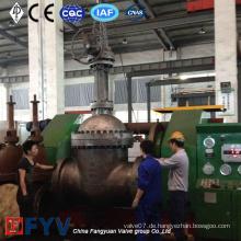 Hochtemperatur-Hochdruck-Legierung Stahl-Schieber-Ventil Wc6 28inch 600lb