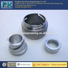 Customized cnc machining aluminum bushing for auto parts