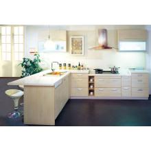 Cabinet de cuisine de laque à haute brillance populaire