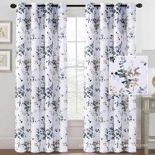 Painéis da sala de estar cortinas estilo blackout para impressão