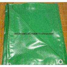 Тенты в 100% полиэстер полотно ткани для тента