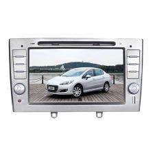 Lecteur multimédia DVD de voiture pour Peugeot 308 GPS Glonass Navigation