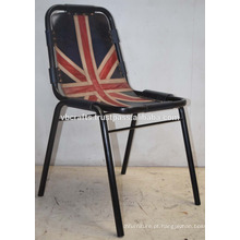 Cadeira de couro do restaurante industrial Cafe