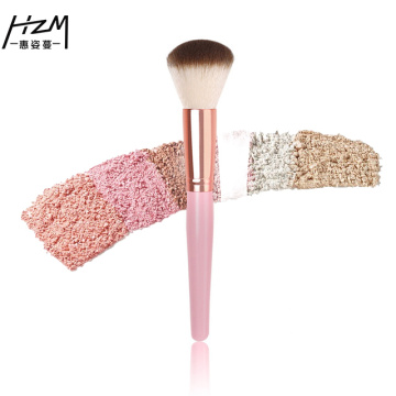 2-bitar rosa Makeup Beauty Blush Brush Kit