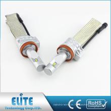 LED Faro PHI ZES Chips 4000LM 6500K 12V-24V Pure White Beam Fanless 5S H8 Faro