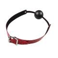 Red Ball Gag Adult Bdsm Leather Bandage Online Shopping Shameless Sex Toy