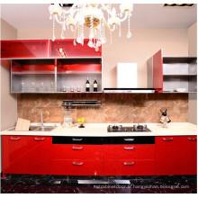 Portes de cuisine en MDF en stratifié pour armoires à tailles personnalisées (plus de 200 couleurs à choisir)