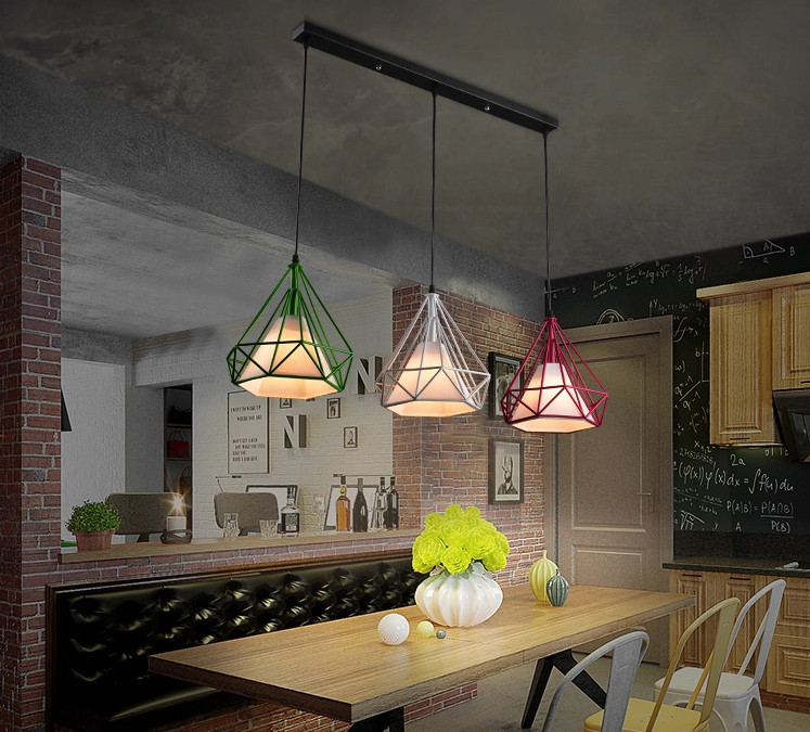 Applicantion Clear Glass Pendant Lights