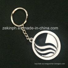 Llavero promocional de metal personalizado para regalo