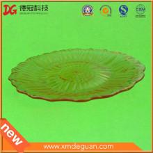 Plato plástico de la fruta de la buena calidad de la buena calidad del molde abierto solamente