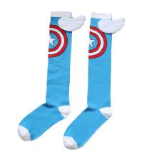 Kinder Baumwolle Kniehohe Cartoon Socken Strümpfe (KA805)