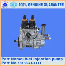 Топливный насос PC400-7 6156-71-1111 для экскаватора Komatsu