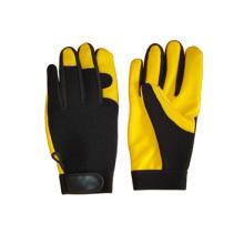 Hirsch Skin Leder Palm Mechanic Arbeit Handschuh-7309