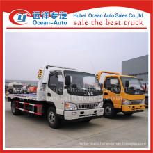 JAC new heavy duty truck 4TON road wrecker tow trucks for sale