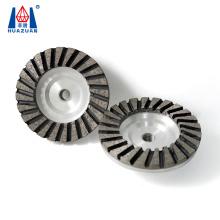 125mm Turbo Diamond Segment Abrasive Cup Grinding Wheel Disc