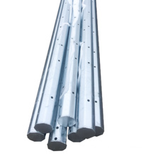 Hot selling products 2021 custom 8m 9m malaysia electric pole hot dipped octagonal steel tapered pole