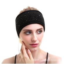 PK18A17HX Women Knit Headband Yog Wool Cashmere Headwear