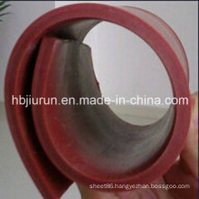 Red Silicone Extrusion Rubber Sheet for Sale