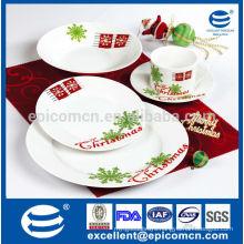 celebrate Christmas dinner set