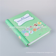 Custom journal book printing with Wire-o binding