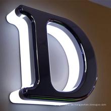 Werbung hinterleuchtete LED-Buchstaben für Front Shop Signage