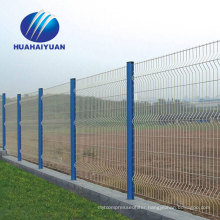 Photovoltaic power station welded fence pvc coated wire fence export to Japan galvanized fence