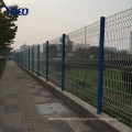 Сверхмощный гальванизированный изогнутый Сварной забор сетка ПВХ, сетка крепления забора