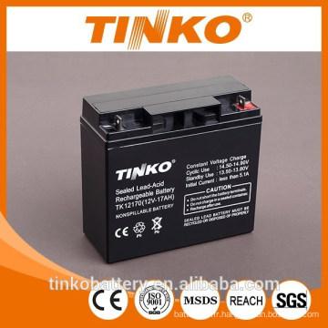 Voiture batterie 12v 17ah batterie acide de plomb