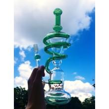 Enjoylife Hbking Rauchen Rohr Helix Glas Wasser Rohr Recycler Wasser Rohr Spirale Glas Rauchen Rohr Hbking Wasserpfeife