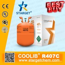 Refrigerante de alta pureza R407c melhor preço