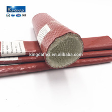 Stable Silicone Coated Fiberglass Pyrojacket Fire Sleeve Hose Protection