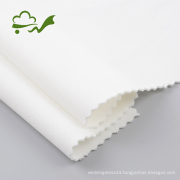 White Stock Available Knitted Scuba Fabric