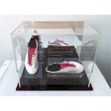 Original Footwear Retail Store Single Pair Running Shoes Small Clear Acrylic Cube Display Boxes
