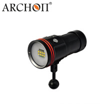 5200 Lumens LED Torch Light for Diving Video with Battery + Charger