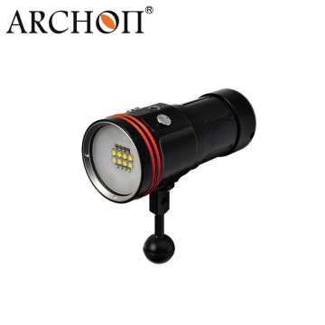 CREE Xm-L2 U2 LED 5200 Lumens Aluminum Diving Torch with 18650 Rechargeable Batteries