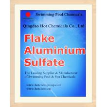 Коагулянт алюминия сульфат CAS 10043-01-3 Хлопь
