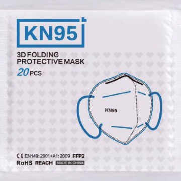 Mode KN95 Gesichtsmaske Anti Pollution Mund Muffel