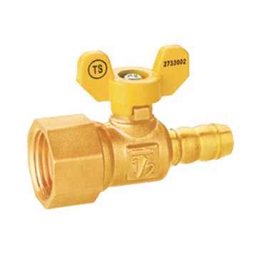 Thread Wanita Brass Thread Valve Injap Bola Leakproof Integral