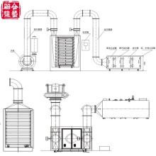 Zp-CI Máquina de secado vertical de aire caliente