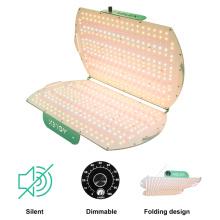 Lâmpada fluorescente LED regulável dobrável para início de sementes
