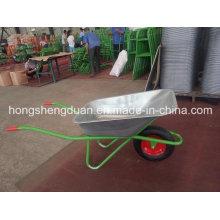 China Wheel Barrow Have Galvanize Tray