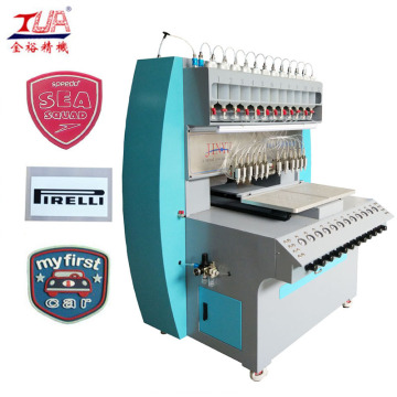 JY-B02 silicone trademark micro injection machine
